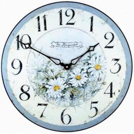Wall Clock 36Cm Daisies