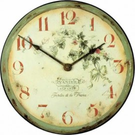 Wall Clock 36Cm Garden France
