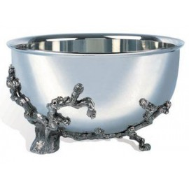 Champagne Bowl Pascal Morabito Polished Pewter