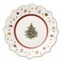 Dessert Plate White Colors Toy'S Delight