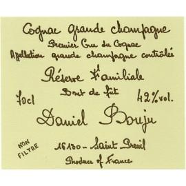 Cognac réserve familiale BRUT