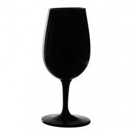 6 Black Inao Tasting Wine Glasses