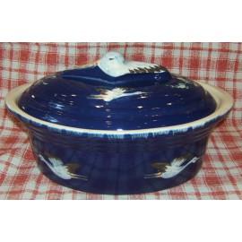 Terrine Storich 6 L / Pottery Alsace / Blue