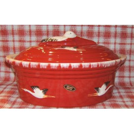 Terrine Storich 6 L / Pottery Alsace / Red