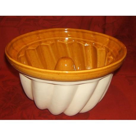 Kougelhopf Mold To 22 Cm / Pottery Alsace / Uni