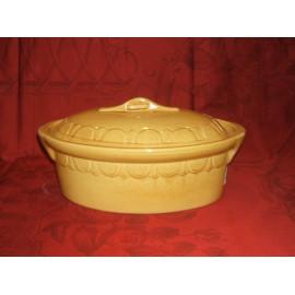 Oval Dish 34 Cm. / Pottery Alsace / Uni