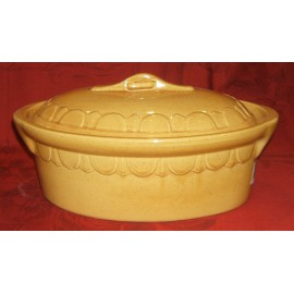 Oval Dish 40 Cm. / Pottery Alsace / Uni