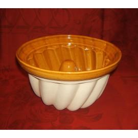 Kougelhopf Mold To 20 Cm / Pottery Alsace / Uni
