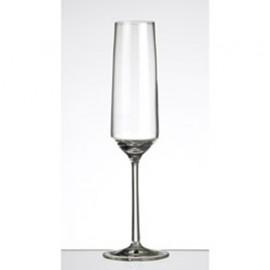 6 Champagne Flutes Pure
