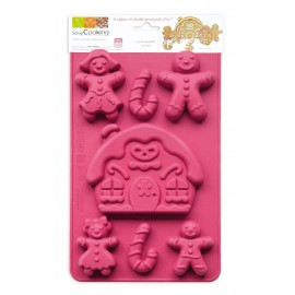 Silicone Cake Mold Family Of Spicy Bread Scrapcooking
