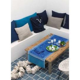 Azulegos col. bleu 50x150 jacquard français