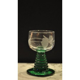 "6 Alcohol Glasses ""Roemer"" Cut Grapes"
