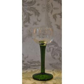 6 verres à alcool SUZEL taillé vigne