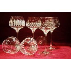 6 verres Alsace sommelier 29 cl taille cigogne