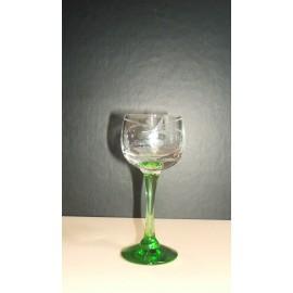 6 Glasses Alcohol Hock 67 Carved