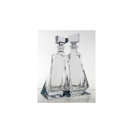 Set Of Two Decanters Lovers
