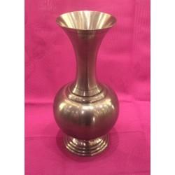 Vase en étain mat H.18cm