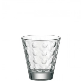 6 gobelets optic ciao transparant