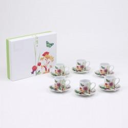 Assiette dessert en Porcelaine 20cm Tutti Fiori
