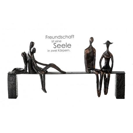 "Sculpture temps libre ""Casablanca"""