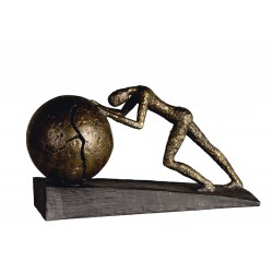"Sculpture Heavy ball ""Casablanca"""