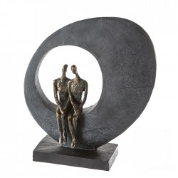 "Sculpture Side by side ""Casablanca"""