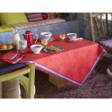 Neck Bohemia Tablecloth. Poppy 175X250Cm