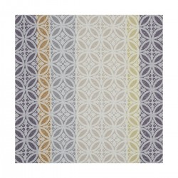 Serviette Mosaique col. argile 58x58cm jacquard français