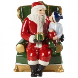Santa on armchair Christmas Christmas Toys
