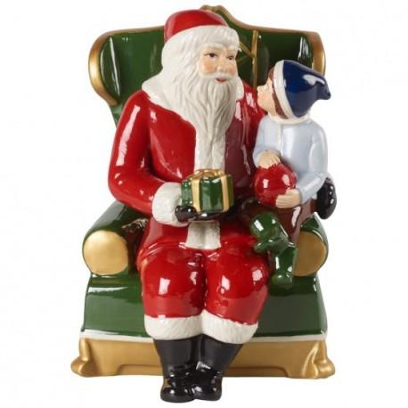 Santa on armchair Christmas Christmas Toys