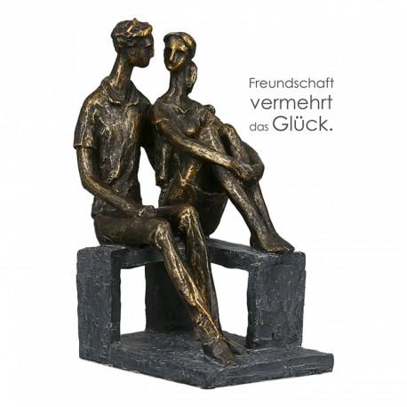 """Sculpture Petite discussion """"Casablanca"""""""