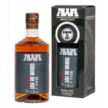 Whiskey alsace AWA coeur de fût de pinot noir 70 cl.