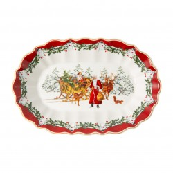 Toy'S Fantasy Large oval Cup santa ans sled