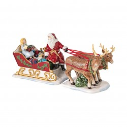 Christmas Toys traîneau rétro Villeroy Boch
