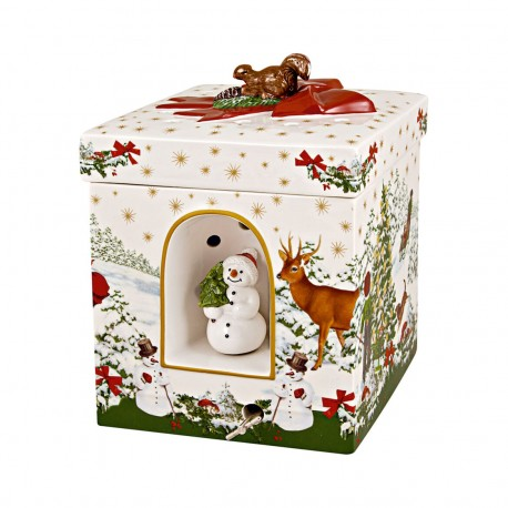 Christmas Toy's grand paquet-cadeau carré Villeroy Boch