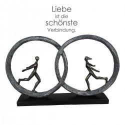"Sculpture So in love ""Casablanca"""