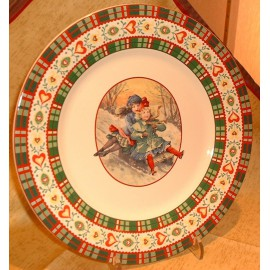 Assiette plate Saint Petersbourg