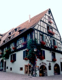 Magasin le Cellier à Riquewihr