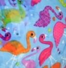 bleu - flamingo