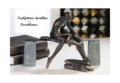 Casablanca sculptures